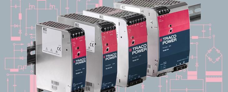 Solidne i niezawodne przetworniki AC/DC na szynę DIN od Traco Power