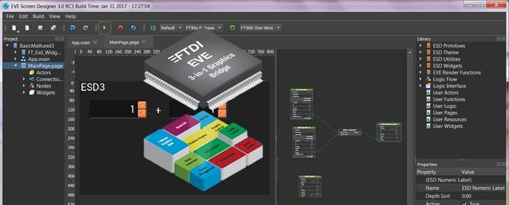 Propozycja graficznego HMI? Z łatwością rozwiąże to ESD 3.x