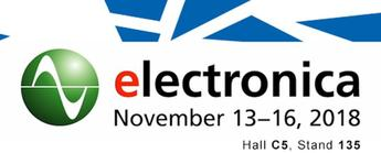 SOS electronic na wystawie Electronica 2018